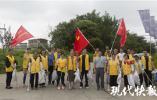 """周末跟着父母义务劳动,南京仙林小朋友也为紫东地区""""美容"""""""