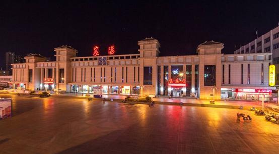 襄阳站夜景