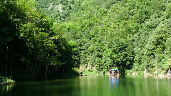 浙中大峡谷一景