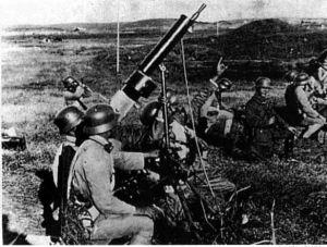 徐州会战日本炮兵真滴