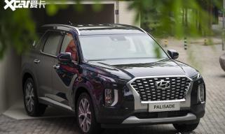 现代Palisade国内首发 定位中大型SUV