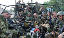 东乌民间武装士兵