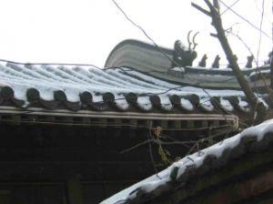 修缮后的三官庙