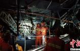 广西百色发生酒吧屋顶坍塌事故 已致2死1危重7重伤