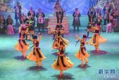 新疆麦盖提:《永恒的刀郎》展风采