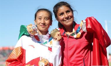 Highlights of athletics at Youth Olympics in Buenos Aires