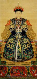 孝庄文皇后画像