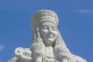 孝庄文皇后雕像