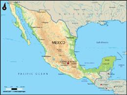 墨西哥地理环境