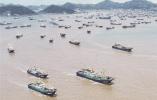 开渔首日,台州3434艘渔船出海