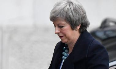 May pleads with European leaders to save Brexit deal