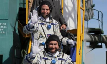 Rocket failure astronauts will go back into space: Russian official