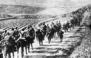日军进攻南京