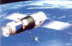 """我国第一颗人造卫星""""东方红一号"""""""