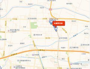 永威五月花城交通状况图