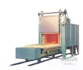 台车箱式炉