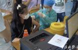 未成年人接种疫苗情况如何?记者探访海曙方舱接种点
