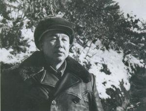 1954年1月王平在朝鲜东线