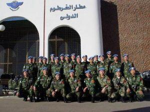 战斗在热带丛林中的联合国维和部队中国运输队