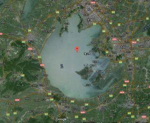 太湖卫星图