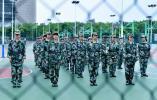 燃!同济大学浙江学院2020年大学生军政训练,青春热血