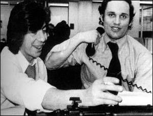 《华盛顿邮报》记者卡尔·伯恩斯坦和鲍勃·伍德沃德