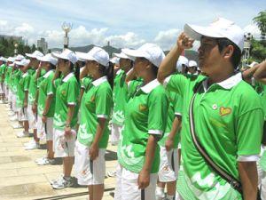 省运会志愿者