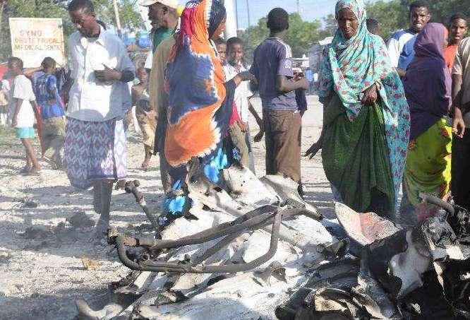 索马里发生路边炸弹袭击致7人死亡