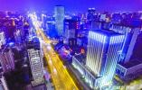 建筑路亮化改造正式亮灯 夜间天际线惊艳无锡市民朋友圈