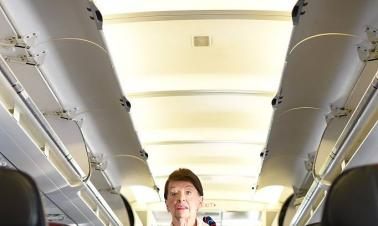 81-year-old flight attendant oldest in the world