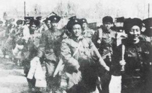 1958年 十万转业官兵奔赴北江荒原
