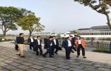平湖市委副书记、市长仲旭东一行到曹桥街道调研美丽城镇建设工作