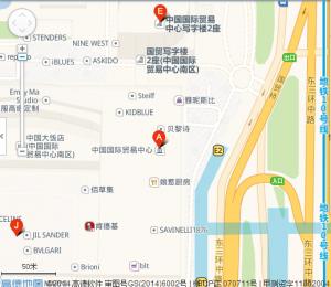 国贸中心地图