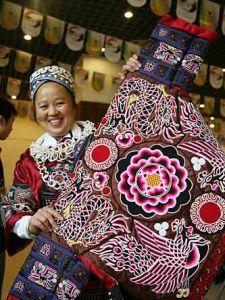 台江苗族刺绣博物馆图片
