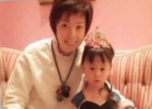 张怡宁与女儿