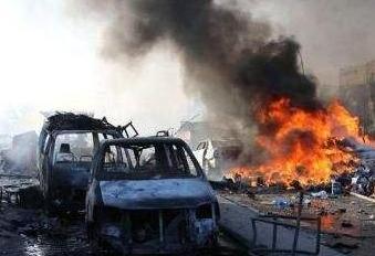 索马里发生路边炸弹爆炸致5死15伤