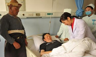 China's Guangdong sends medical staff to Tibet for better medical care services to locals