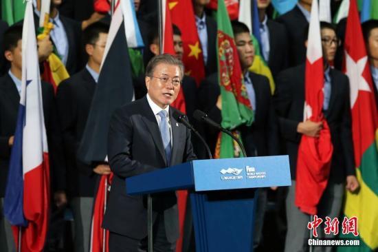 韩媒:文在寅国政支持率降至39% 创任期内新低