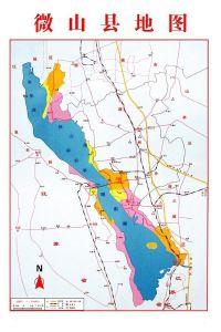 微山县地图