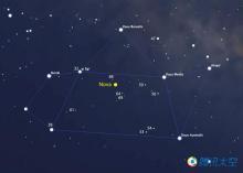 射手座新星出现的位置坐标